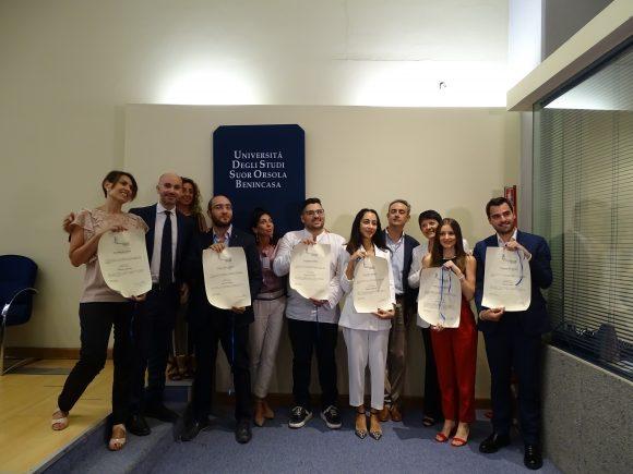 Laureati Eccellenti 2019 Suor orsola benincasa